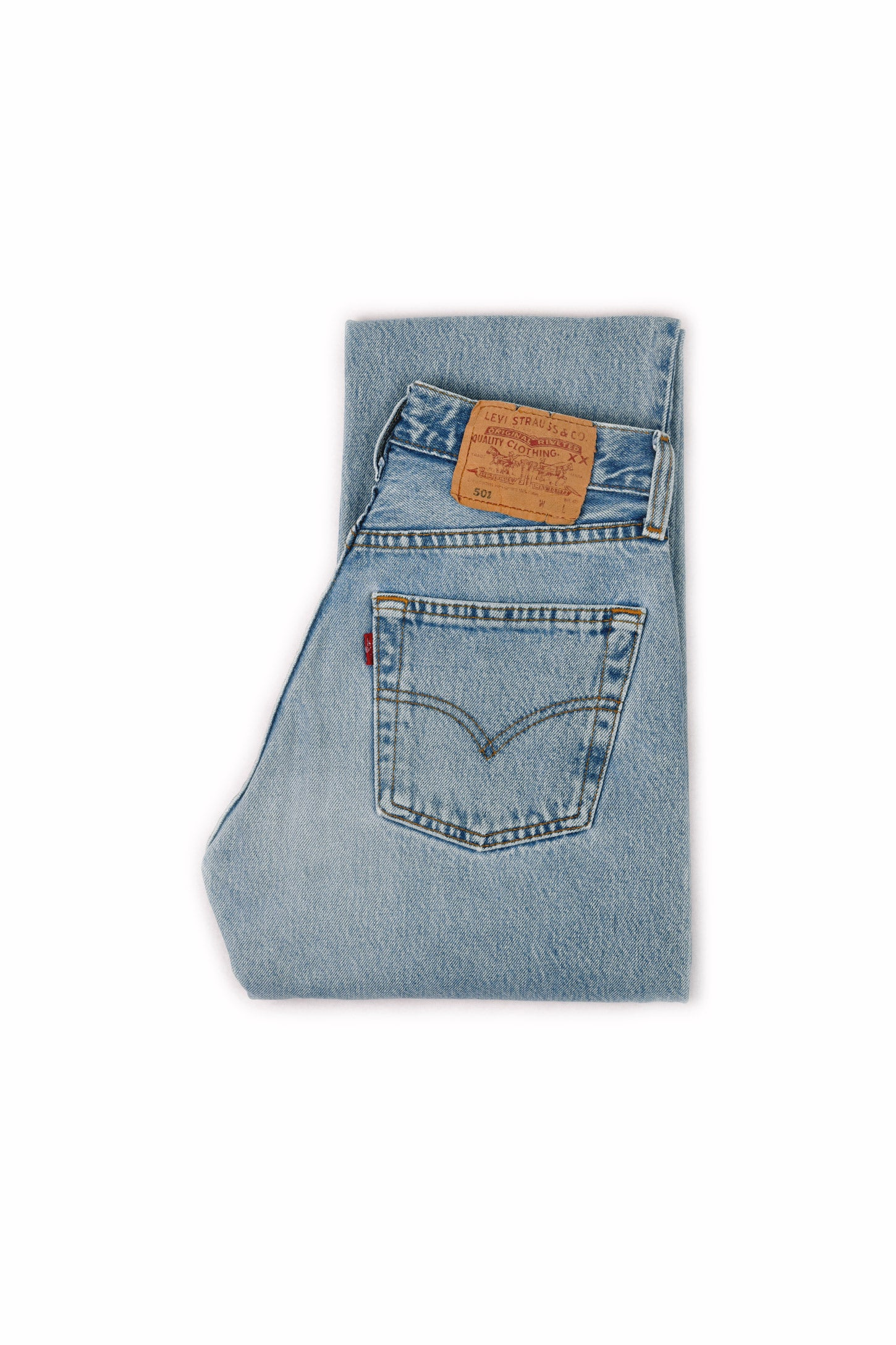 Second Hand - LEVI'S 501 ORIGINAL FIT JEANS BLUE - FRÅN Ö TILL A