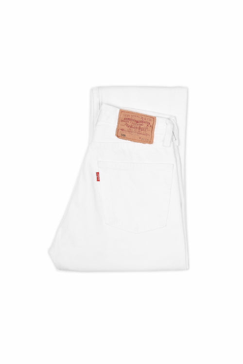 LEVI'S 501 ORIGINAL FIT JEANS WHITE