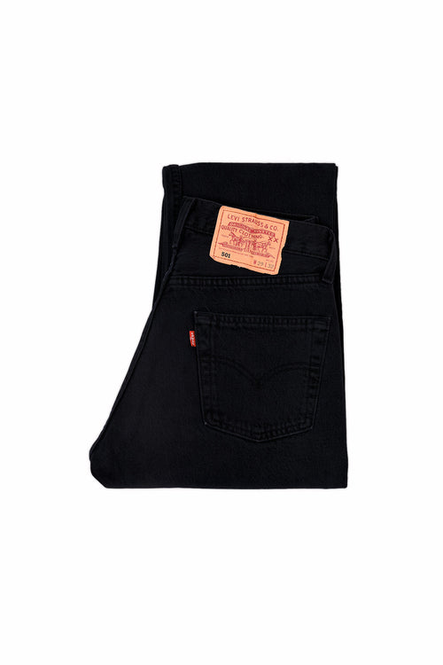 LEVI'S 501 ORIGINAL FIT JEANS OD BLACK