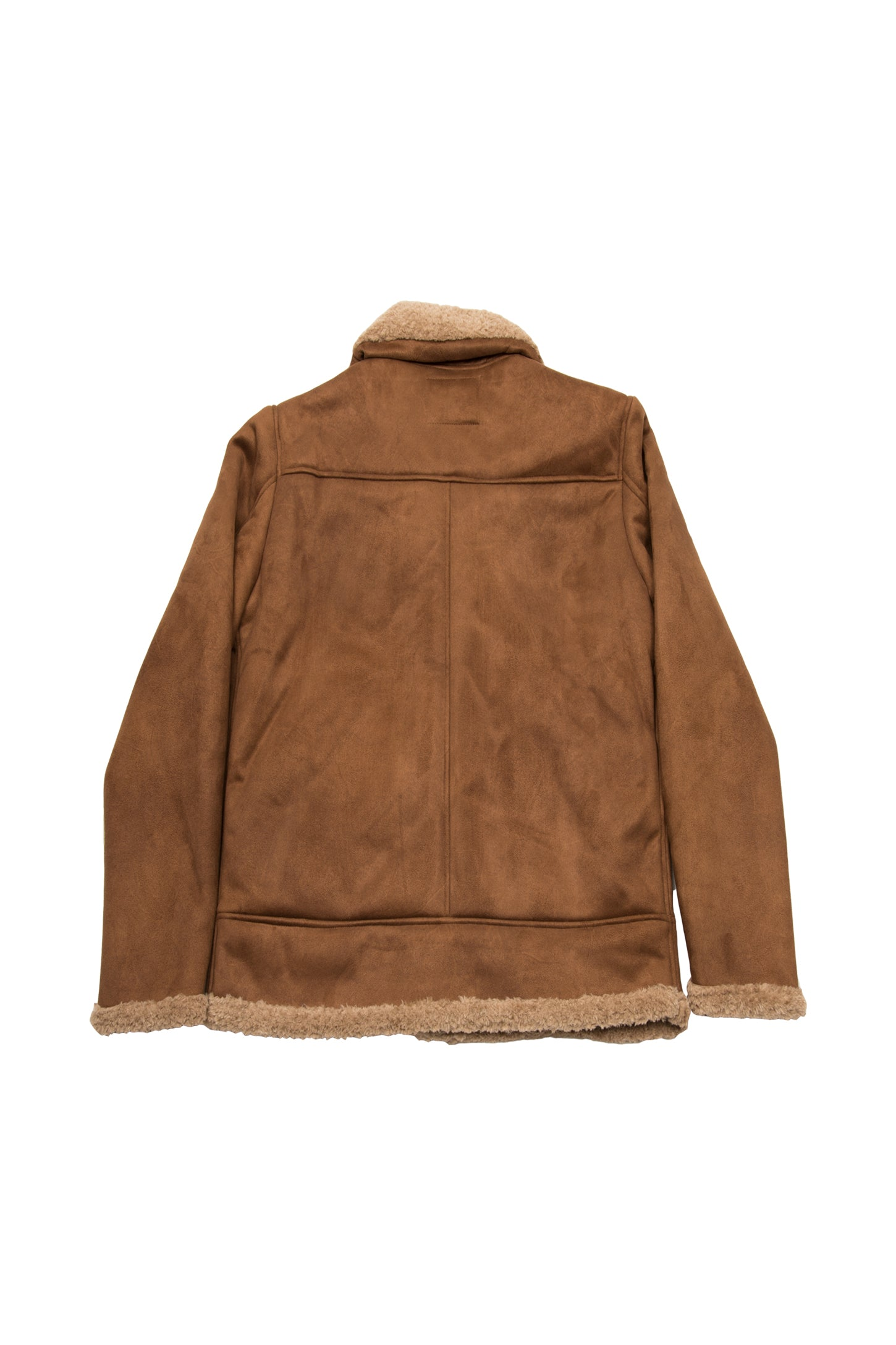 MAX - FAUX SHEARLING JACKET