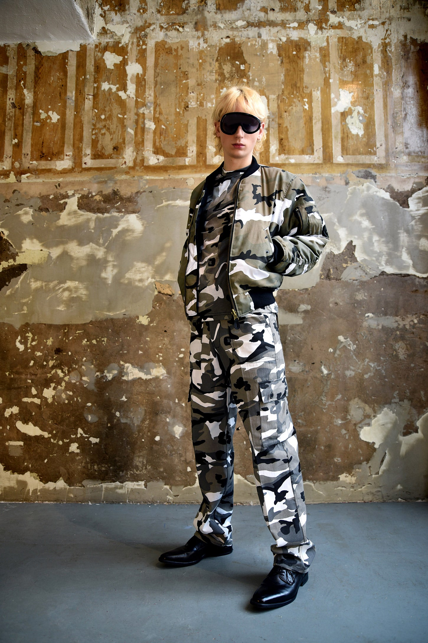 Other - MA-1 FLIGHT JACKET URBAN CAMOUFLAGE - FRÅN Ö TILL A