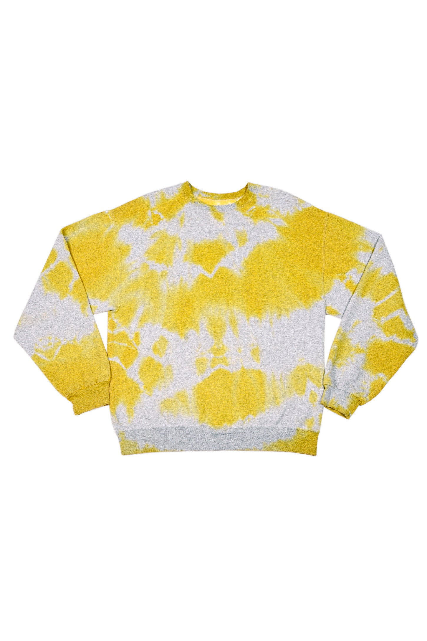 TIE DYE SECOND HAND SWEAT GREY