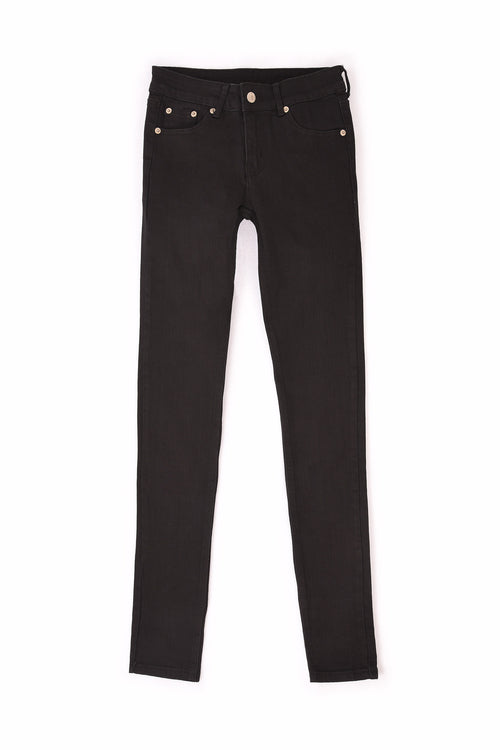 GENDERLESS SLIM STRETCH BLACK