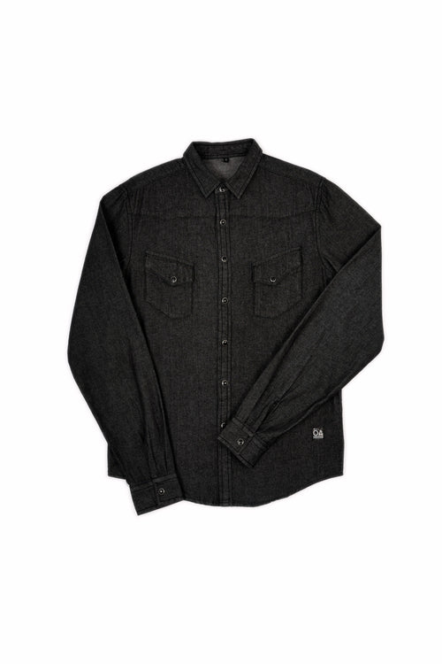 WESTERN SHIRT BLACK DENIM