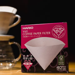 Filters for Your Hario V60 coffee maker. Shop online: caffeineusa.com