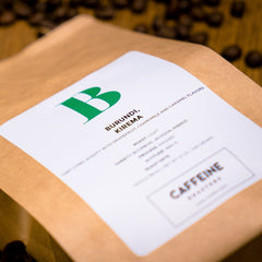 We are in love with our single origin coffee from Burundi! Shop now at caffeineusa.com