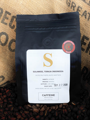 SINGLE ORIGIN: SULAWESI, TORAJA INDONESIA