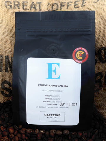 SINGLE ORIGIN: ETHIOPIA, GUJI-AMBELA