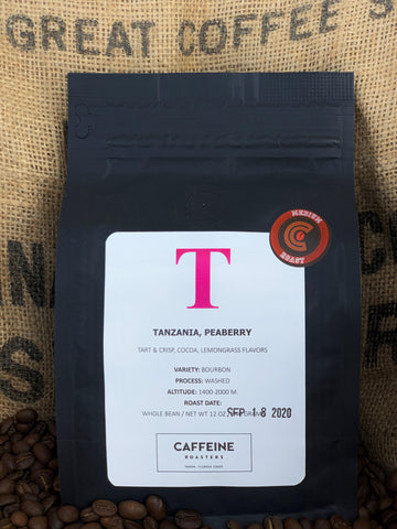 SINGLE ORIGIN: TANZANIA, PEABERRY