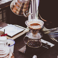 Iconic filter brewing method - Hario V60, made in Japan. Shop online at caffeineusa.com
