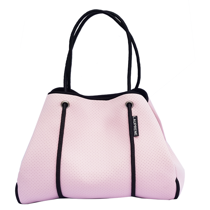 NEOPRENE TOTE BAG - BLUSH PINK
