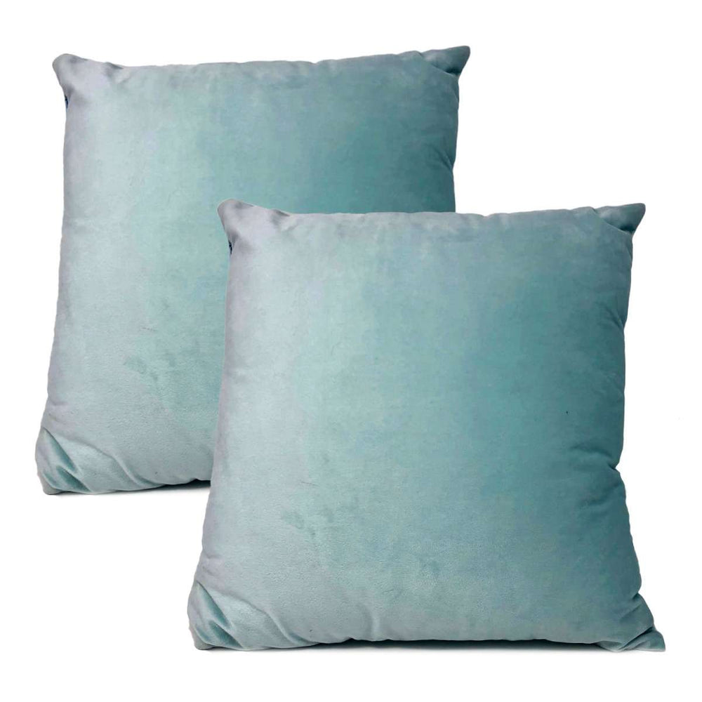 Velvet Cushion Covers - Pink or Mint