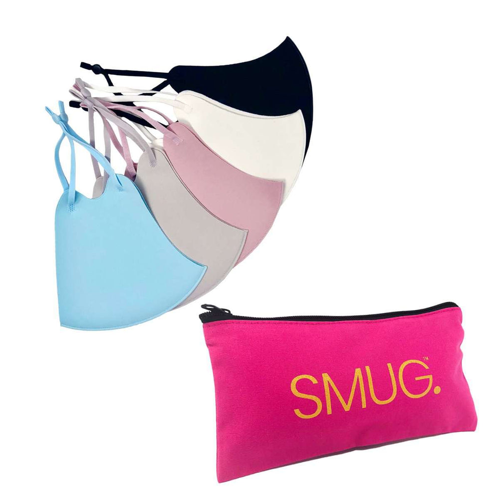 Face Covering Multipack Set - 5 Colours