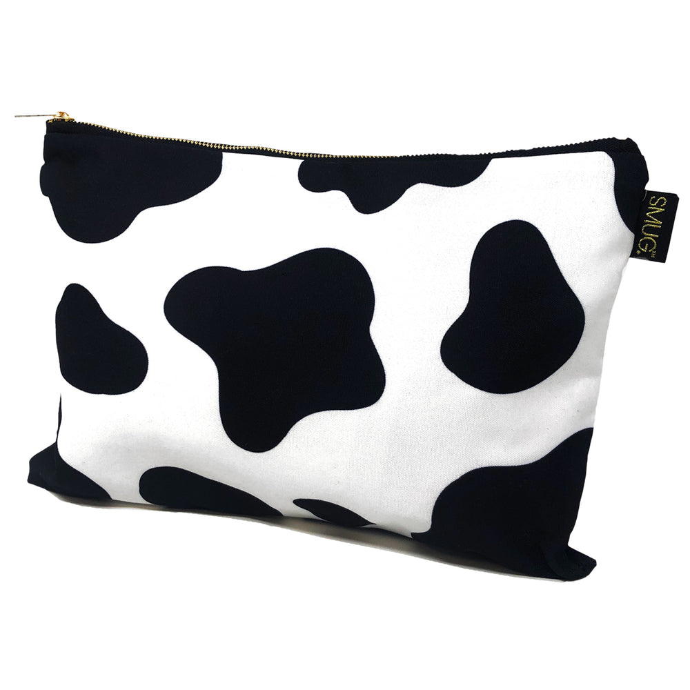 Accessories Bag - Cow Print