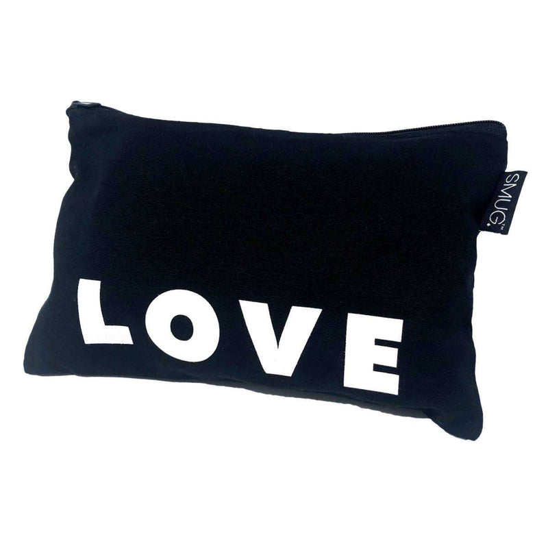Travel Bag - Love Print, Black