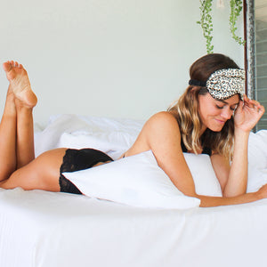 Satin Sleep Mask - Animal Print