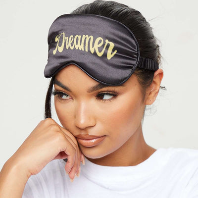 Silk Luxury Sleep Mask - Dreamer Print