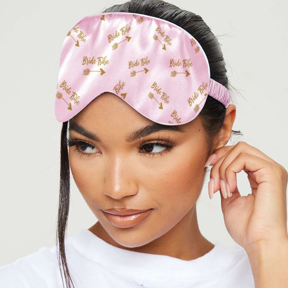 Silk Luxury Sleep Mask - Bride Tribe