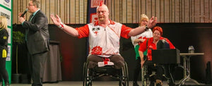 Unique Mobility agrees sponsorship deal with world cup winning darts player