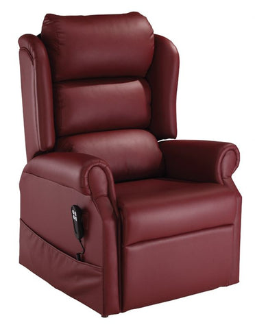 Jubilee Riser Recliner - Burnt Amber Ultraleather