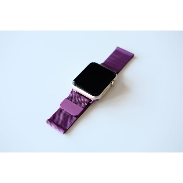 Purple Milanese Loop Apple Watch Band - OzStraps.me