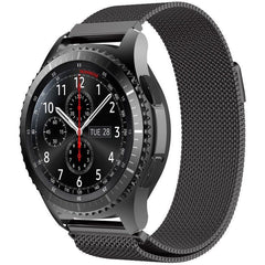 Black Milanese Loop Samsung Gear S3 Band - OzStraps.me