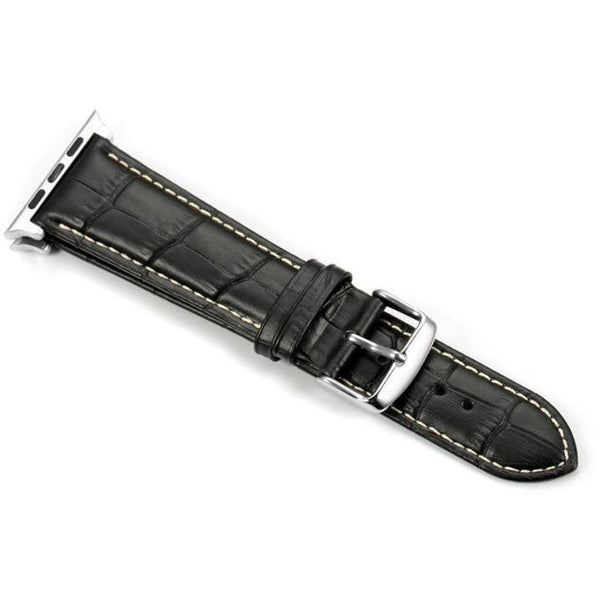 Italian Calf Leather 3 Pin Clasp Apple Watch Bands - OzStraps.me