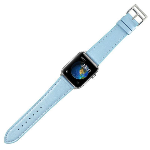 Pastel Leather Apple Watch Band - OzStraps.me