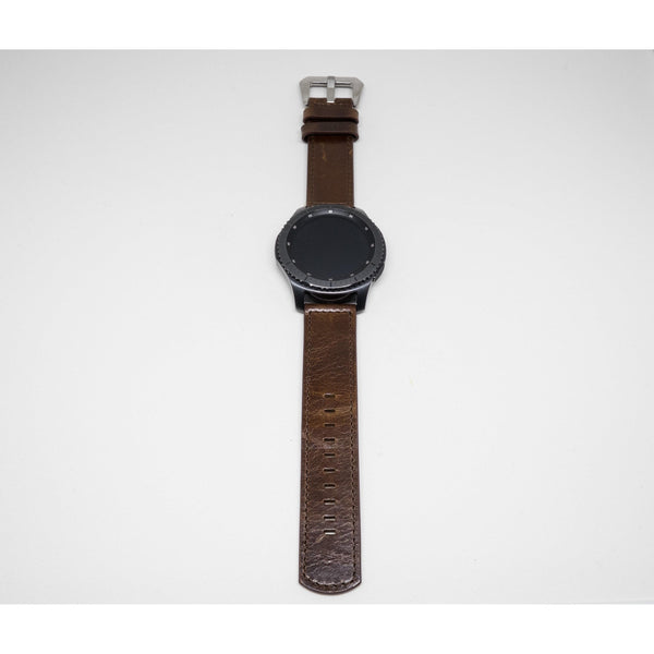 Vintage Leather Samsung Gear S3 Band - OzStraps.me