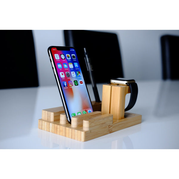 Apple Watch Stand - Bamboo Expert - OzStraps.me