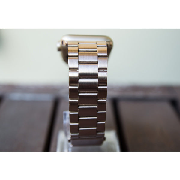 Rose Gold Classic Stainless Steel Apple Watch Band - OzStraps.me