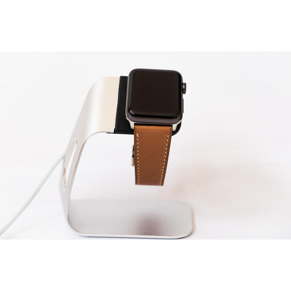 Rosy Brown French Calf Leather Apple Watch Band - OzStraps.me