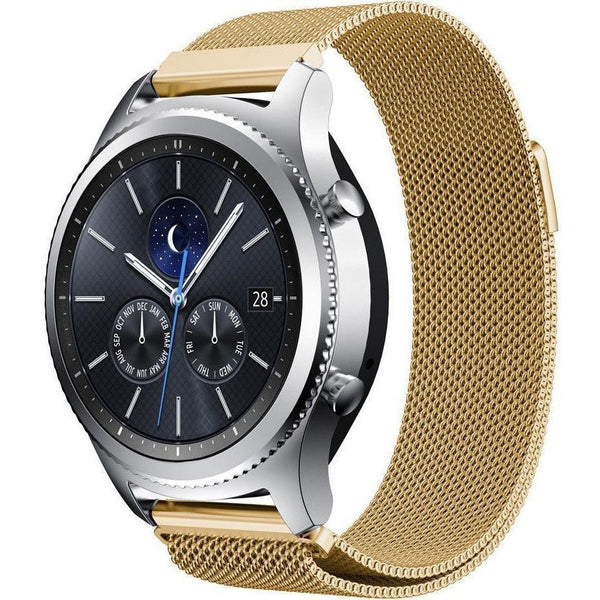 Gold Milanese Loop Samsung Gear S3 Band - OzStraps.me