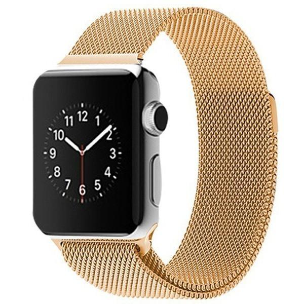 Gold Milanese Loop Apple Watch Band - OzStraps.me