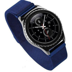 Blue Milanese Loop Samsung Gear S3 Band - OzStraps.me