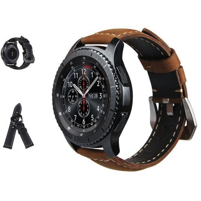 Calf Leather Samsung Gear S3 Band - OzStraps.me