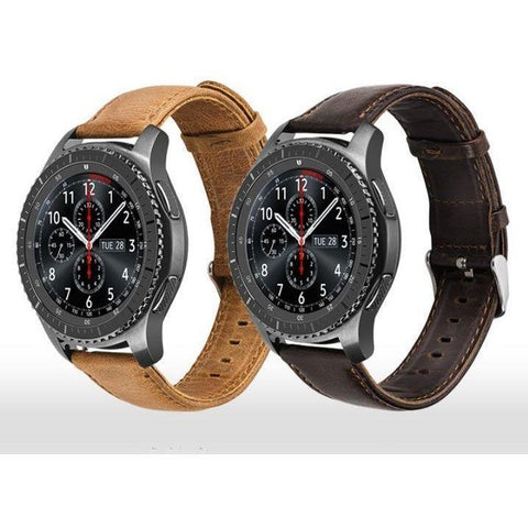 Classic Leather Samsung Gear S3 Band - OzStraps.me