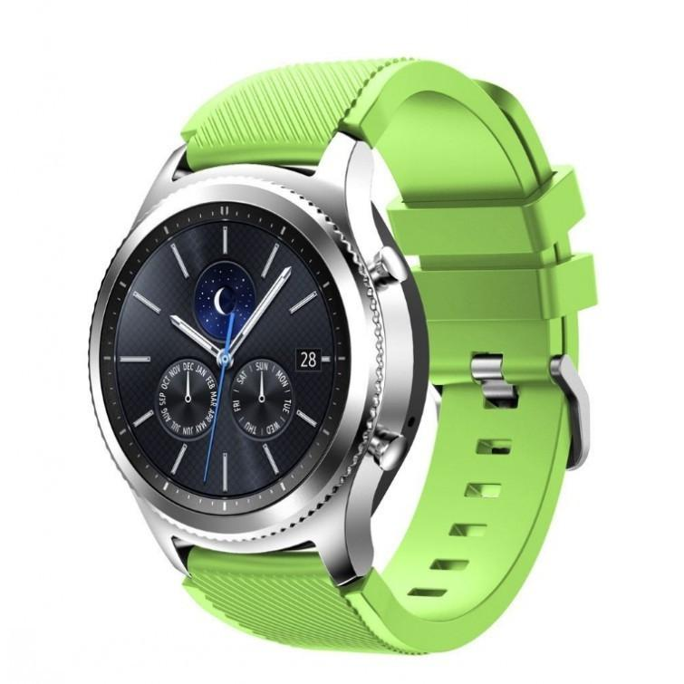 Lime Silicone Samsung Gear S3 Band - OzStraps.me
