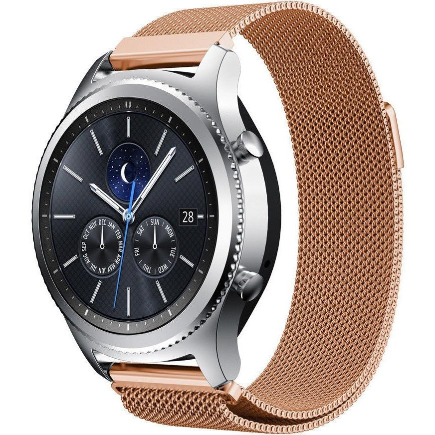 Rose Gold Milanese Loop Samsung Gear S3 Band - OzStraps.me