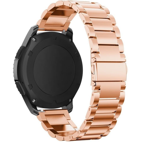 Rose Gold Stainless Steel Samsung Gear S3 Band - OzStraps.me