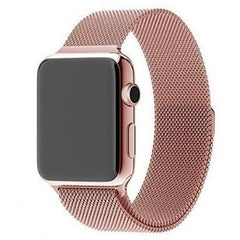 Rose Gold Milanese Loop Apple Watch Band - OzStraps.me