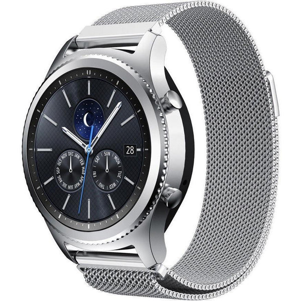 Silver Milanese Loop Samsung Gear S3 Band - OzStraps.me