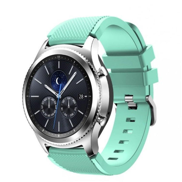 Teal Silicone Samsung Gear S3 Band - OzStraps.me