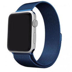 Blue Milanese Loop Apple Watch Band - OzStraps.me