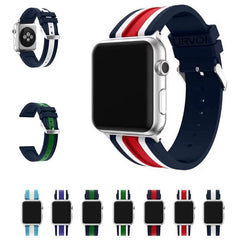NATO Silicone Apple Watch Band - OzStraps.me