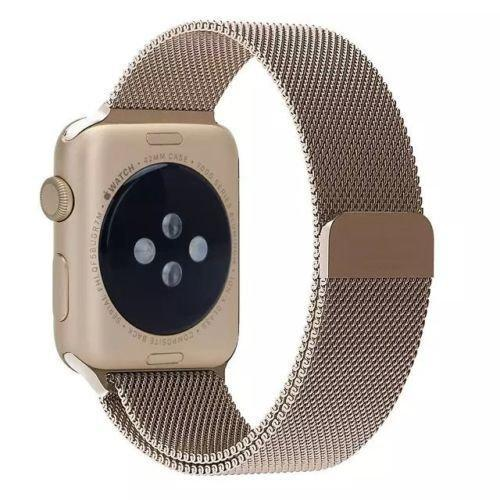 Vintage Gold Milanese Loop Apple Watch Band - OzStraps.me