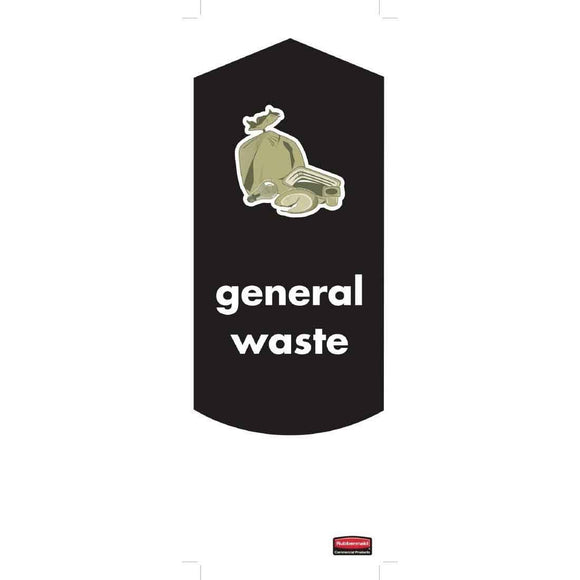 General Waste Sticker For Slim Jim