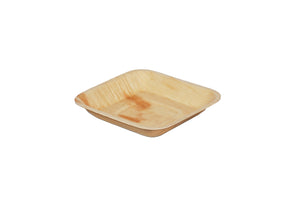 Green Planet Square Palm Plate