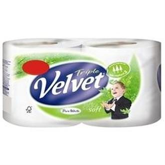 Triple Velvet Toilet Tissue