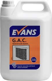 Evans GAC Brick Acid Cleaner